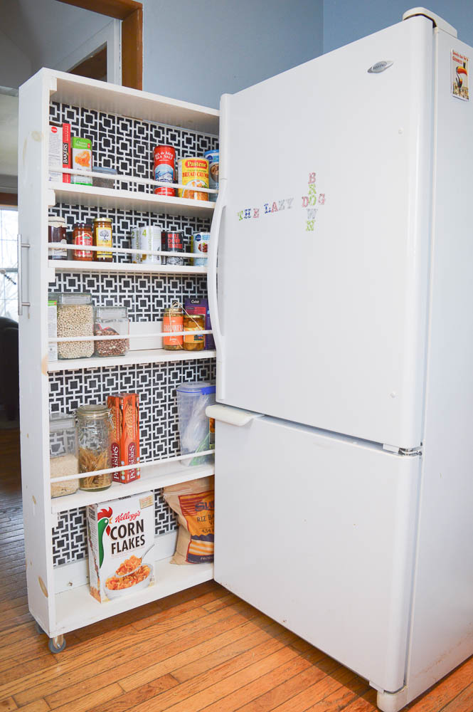 How To Build A Pull Out Pantry