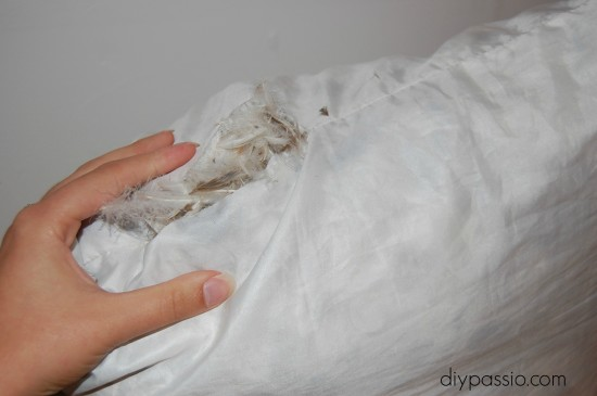 How to Properly Clean and care for down pillows