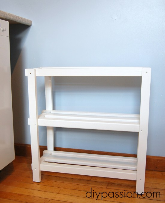 Kitchen Basket Shelf 1