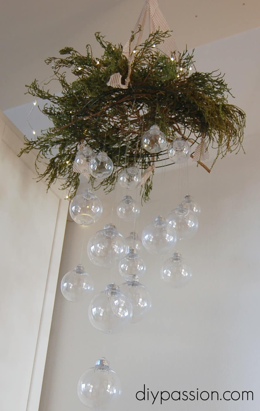 Clear ornament hanging chandelier arubaitofo Gallery