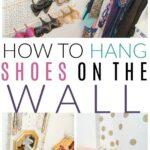 hang shoes organizer