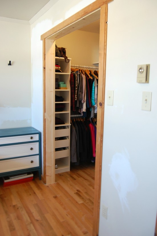 Master Closet Renovation 6