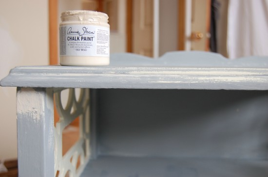 Distressed Side Table with Annie Sloan Paint