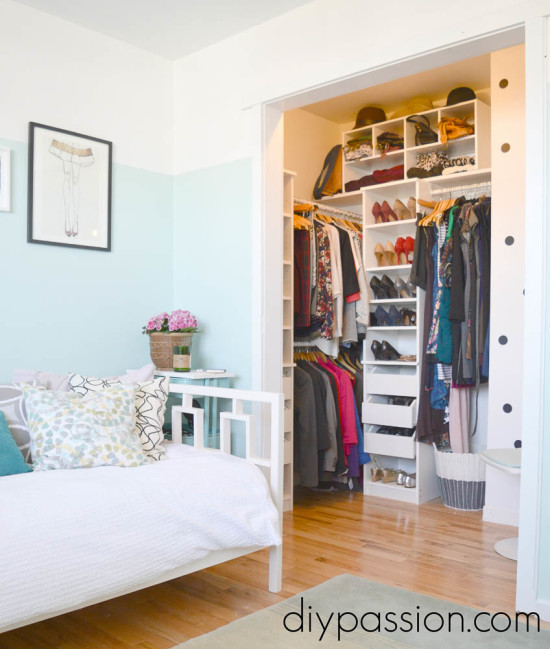 Office and Walk-in Closet Combination
