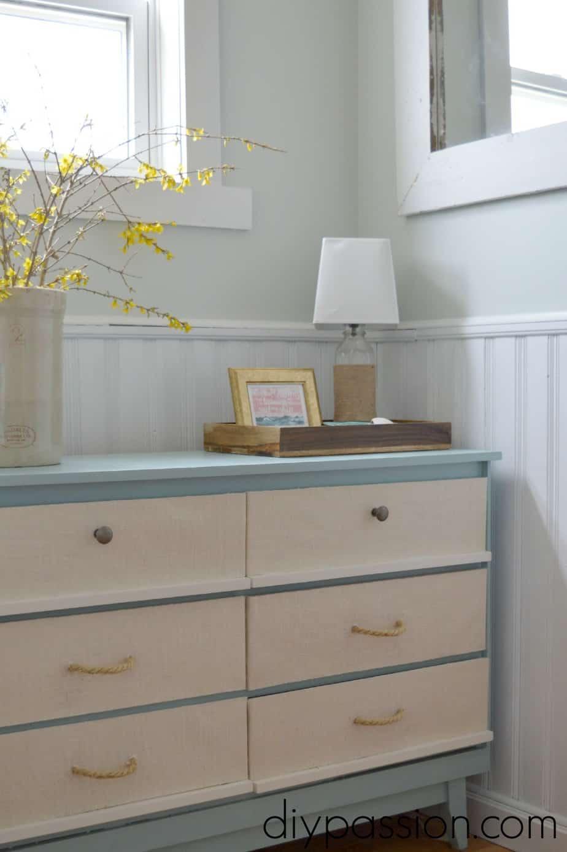 How To Paint A Modern Nautical Dresser