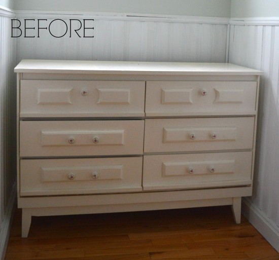 Nautical Dresser Before