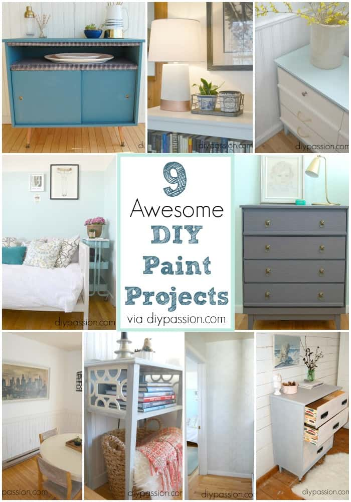 9 DIY Paint Projects for you to try