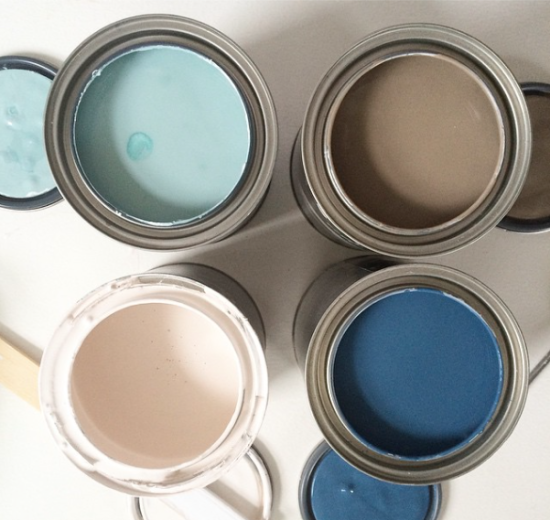 Coastal paint colours