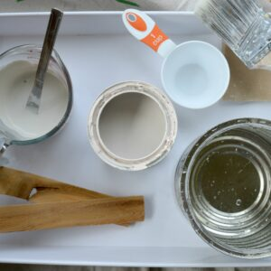 Mixing DIY Chalky style paint