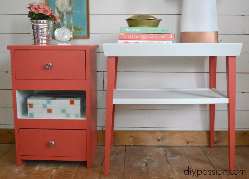 How to Paint an End Table