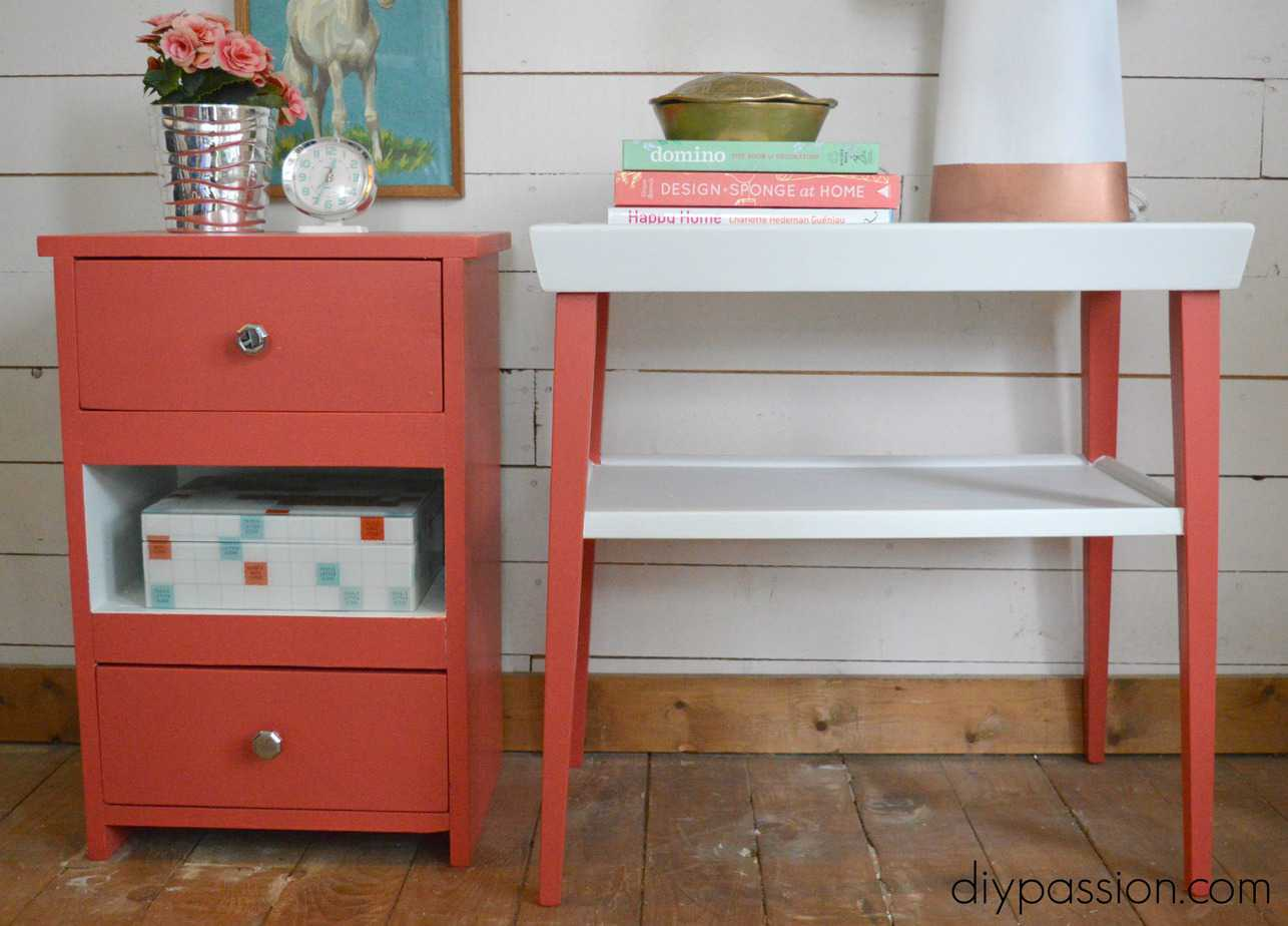 Make end tables match