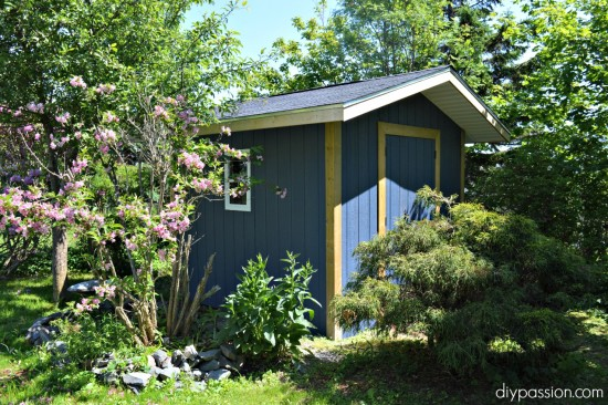 how to paint a shed, paint for sheds
