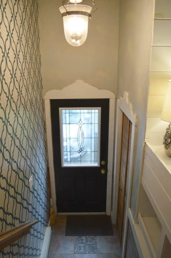 Foyer BEFORE Front Door