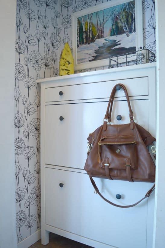 Foyer Makeover Coat Closet