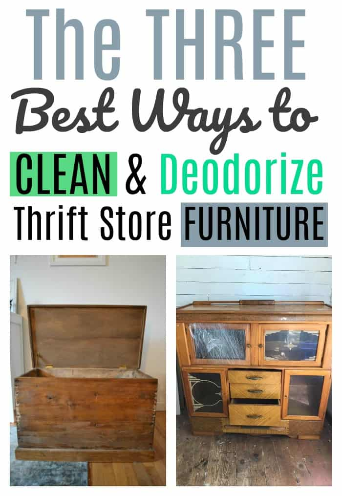Three Ways To Clean Thrift And Second Hand Furniture