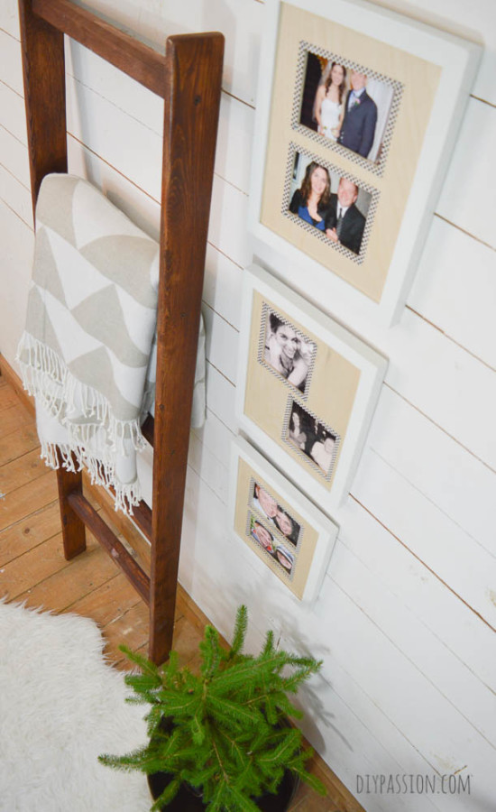Craft Wood Photo Mats Top Down Angle
