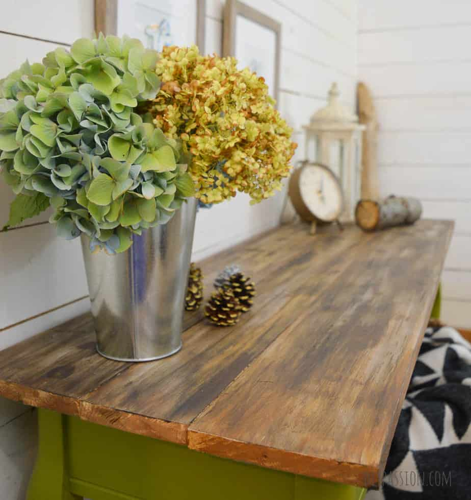 DIY Barnwood Table Top