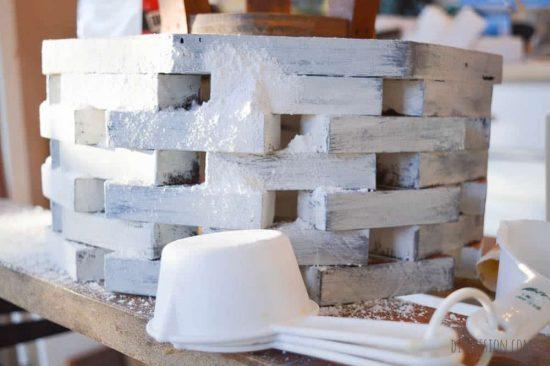 DIY Faux Concrete Finish