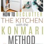 konmari method kitchen