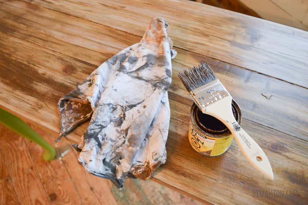 How to make new wood look weathered