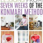 seven lessons in seven weeks of konmari