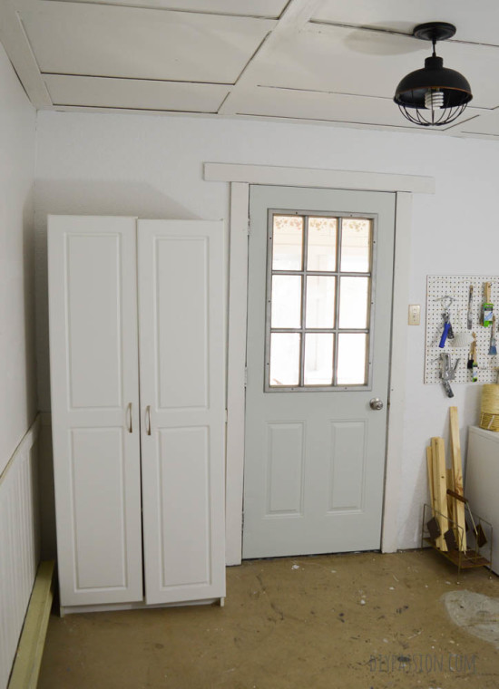 Studio Makeover New Closet Before
