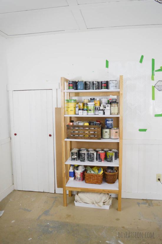 Studio Paint Wall Phase One