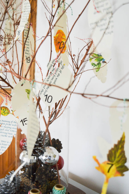DIY Advent Calendar with Silhouette Cameo