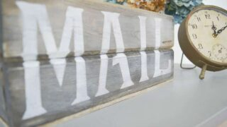 How to Build a Rustic Mail Sorter