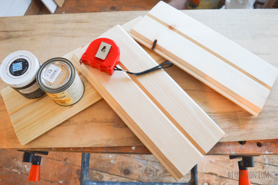 How to make a DIY Mail Sorter out of wood