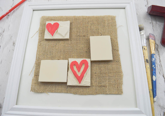 Lay out your Hand Carved Stamps