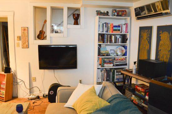 Basement Family Room BEFORE