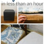 Make DIY No Sew Slipcovers in Less than an hour