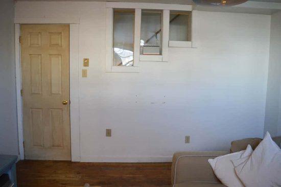 Rec Room Door BEFORE