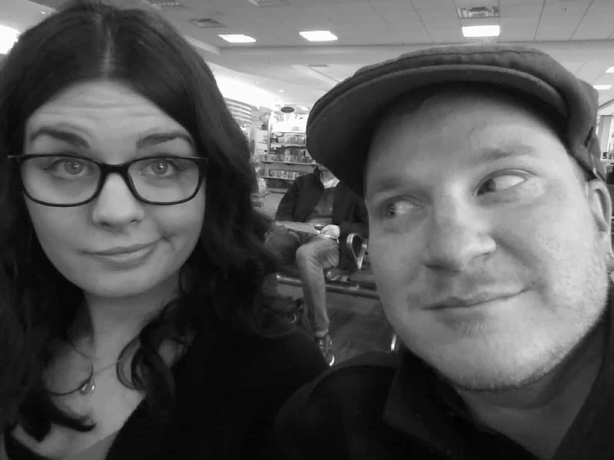 At the Halifax Airport