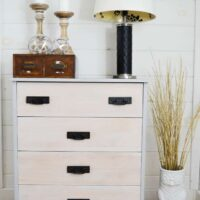 How to Transform a Dull Drab Dresser with Glorious Grey Paint