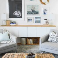 How to add tons of storage to your living room | Fauxdenza Part Two