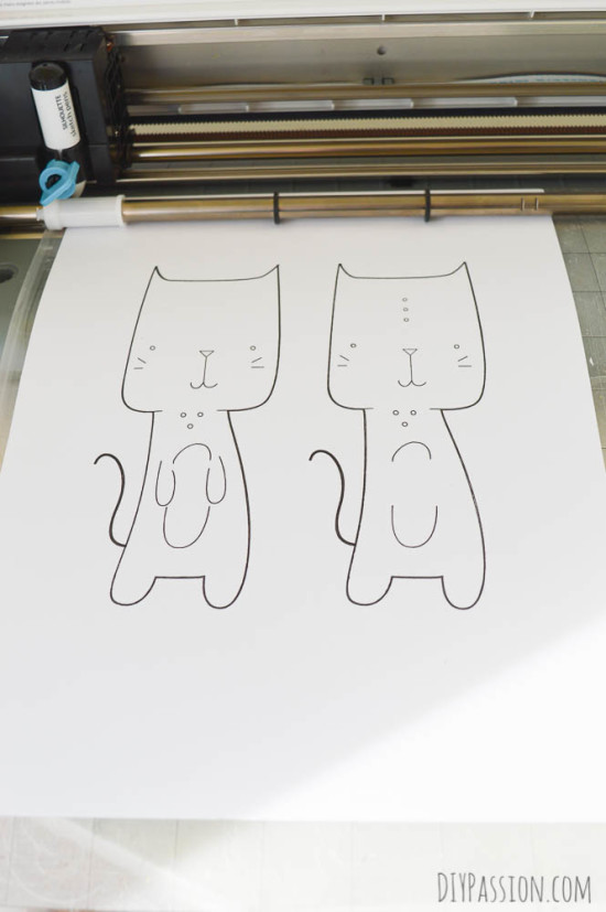 Using Silhouette Sketch Pens
