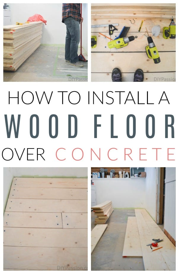 How To Install A Barn Board Floor Over