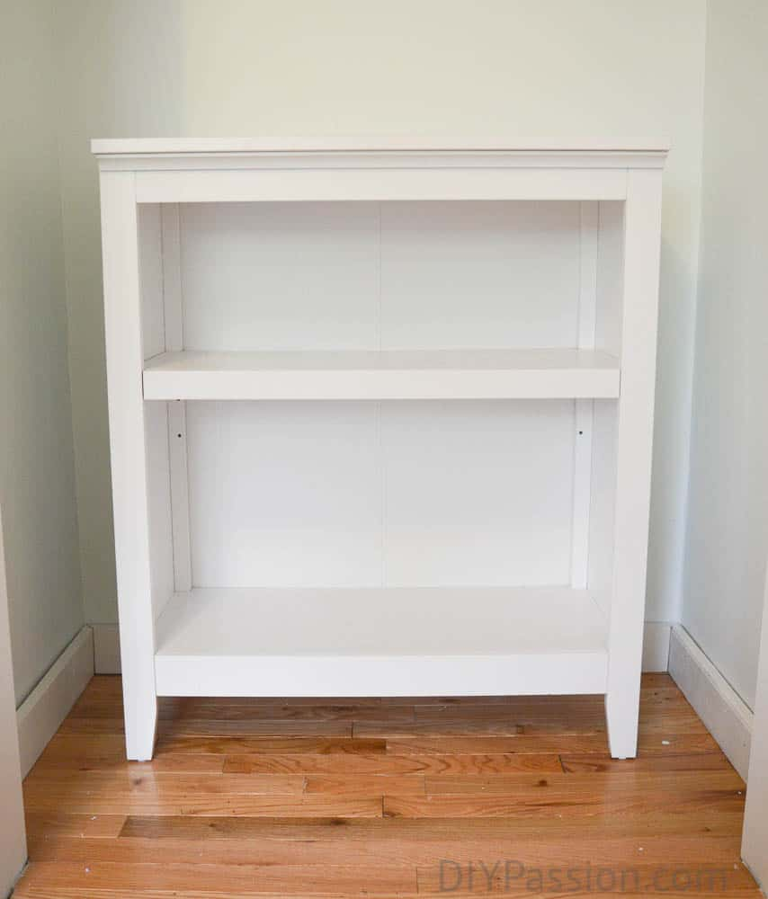 Cost of a DIY Changing Table Dresser