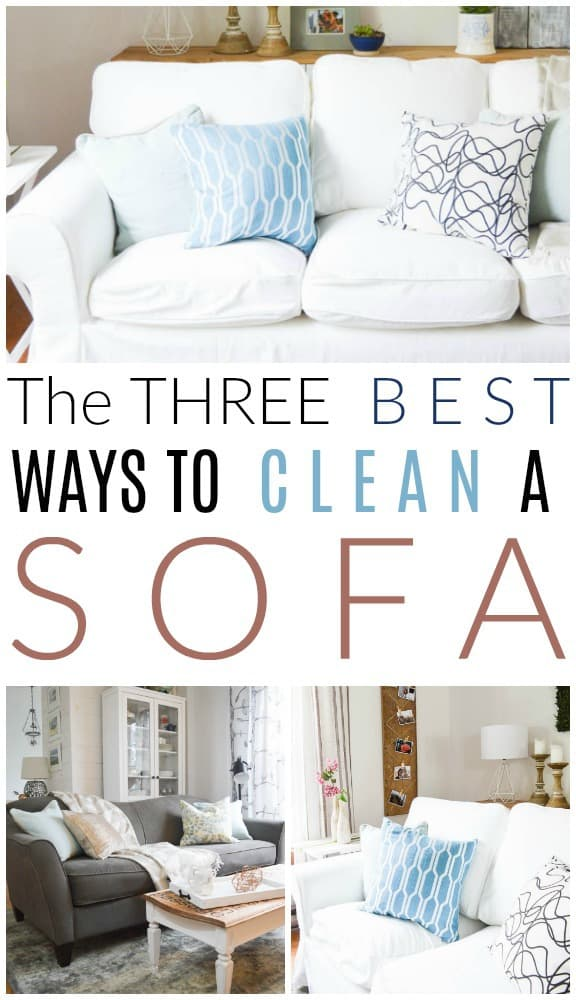 ways to clean a sofa