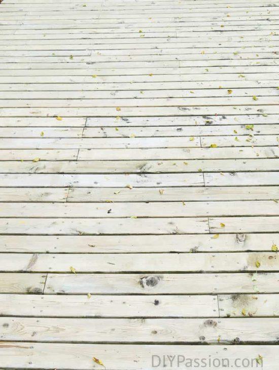 A clean deck