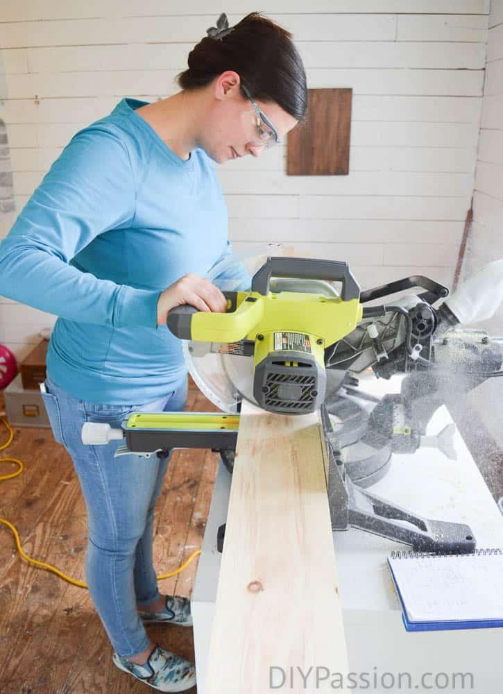 Cutting Instructions, farmhouse dresser diy