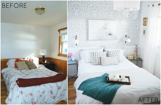 Guest Bedroom Before and After