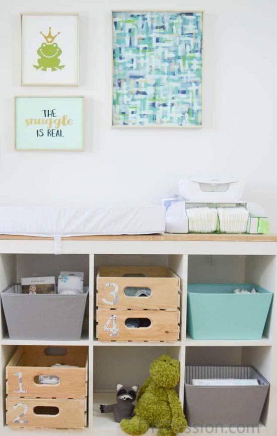 Nursery Change Table Sneak Peek with Munchkin Canada