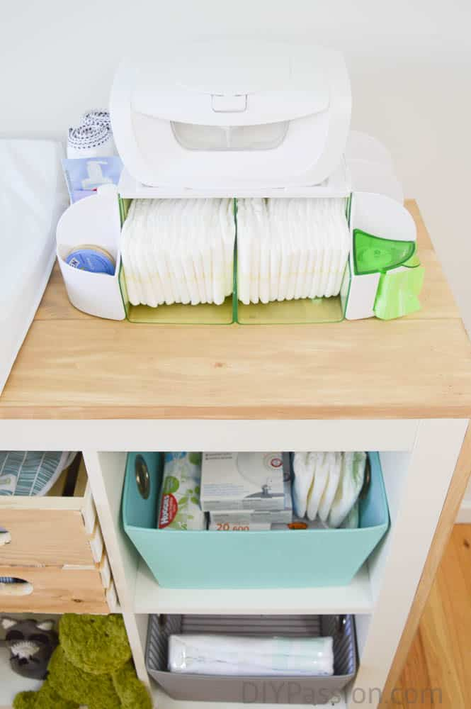 Finishing Instructions , diy changing table dresser