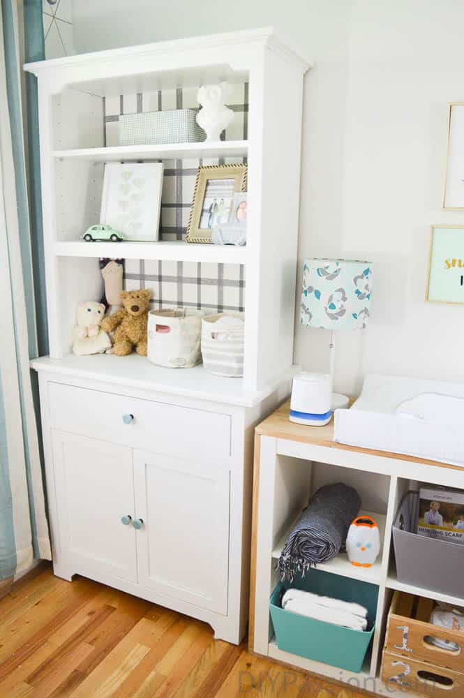 Why DIY a Changing Table with Hutch