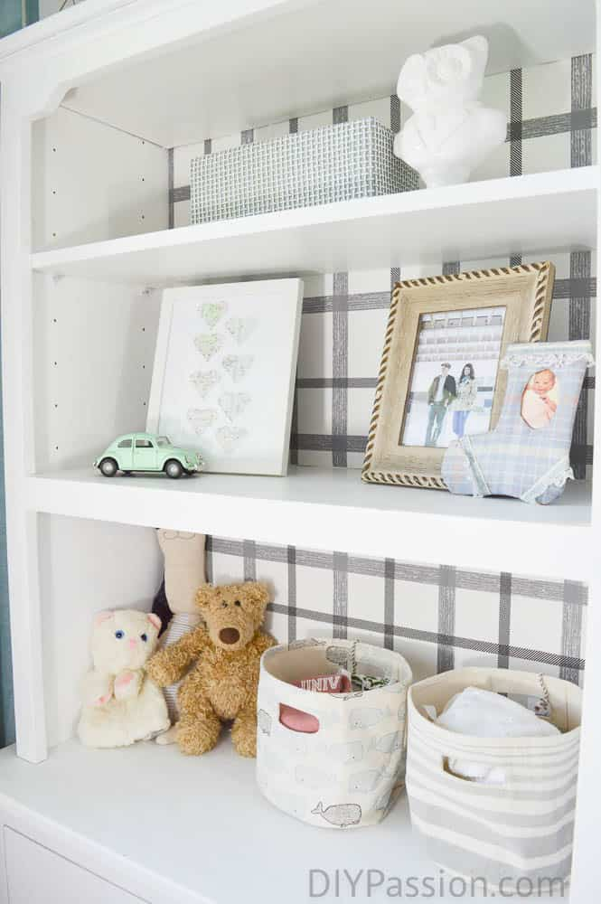 Changing Table with Hutch (Easy DIY)