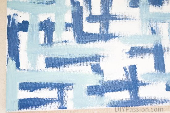 Close up of Brush Strokes