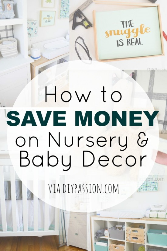 How to Save Money on Nursery and Baby Decor